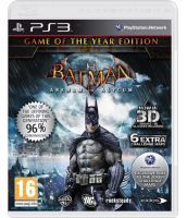 Batman: Arkham Asylum - Game of the Year (PS3) [Русская документация]